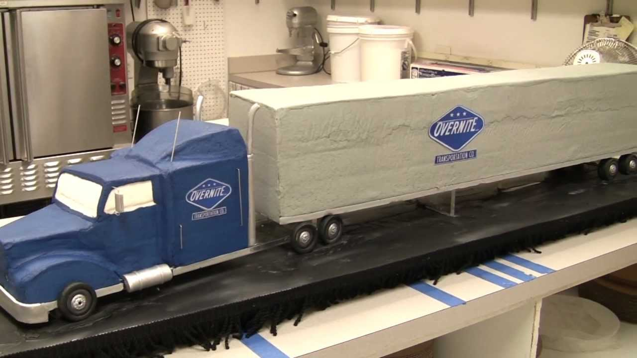 Overnite Truck Time Lapse Cakes By Graham YouTube