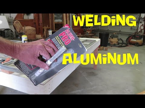 Aluminum Window Welding