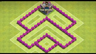 Clash Of Clans - BEST TH4 FARMING BASE! (Anti Giant And Archer) - New 2015 HD