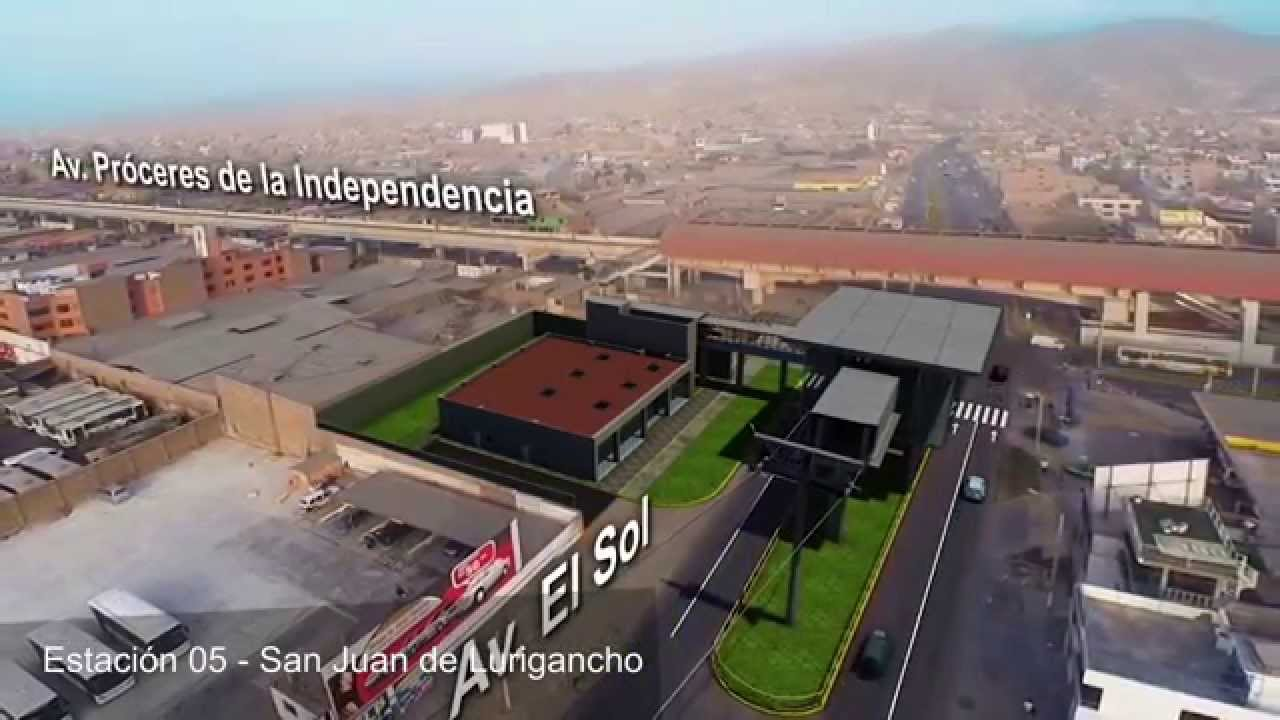 PIP Teleferico Independencia - San Juan De Lurigancho - YouTube