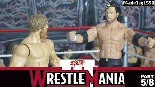 No Limits Wrestling: WrestleMania 3 (5/8) (Stop Motion) (HD)