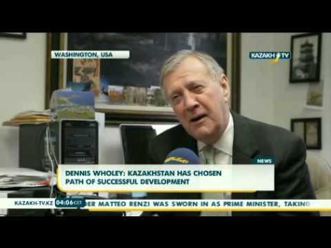Dennis Wholey: Kazakhstan has chosen path of successful development