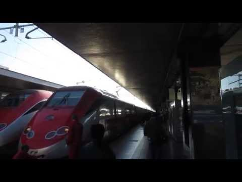 Taking the Frecciarossa HST train from Rome to Naples