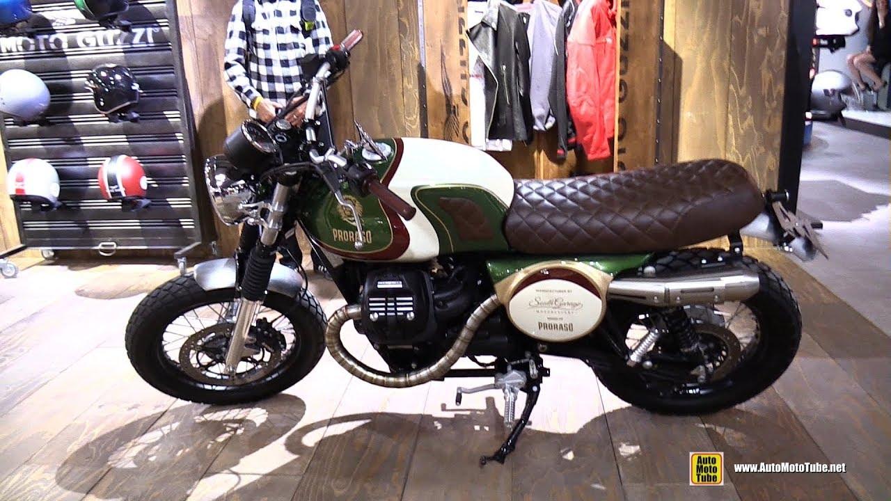2018 Moto Guzzi V7 Iii South Garage Custom Bike Walkaround 2017