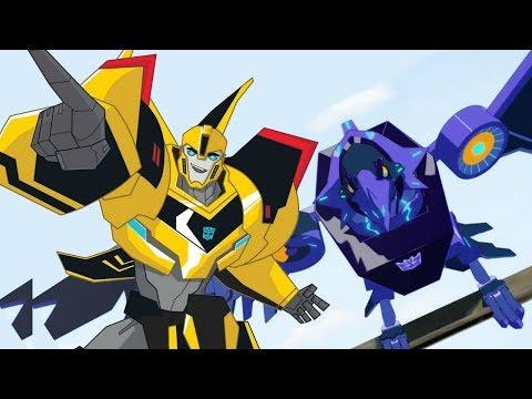 Çizgi Film Transformers. Gizlenen Robotlar / Robots In Disguise 7-8 Bölümleri Izle!