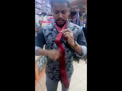 How to Tie a Tie- Malayalam Vineesh Nice Fair Bangalore