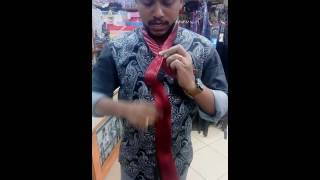 How to Tie a Tie- Malayalam Vineesh Nice Fair Bangalore