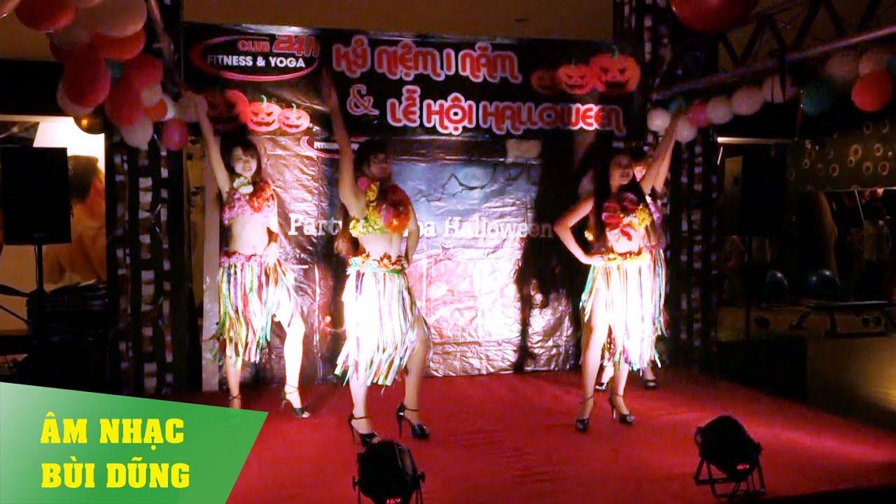 Nhóm Múa Hawaii Sự Kiện Halloween Của Club 24h Fitness & Yoga