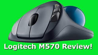 Logitech M570 Mouse Review!!!