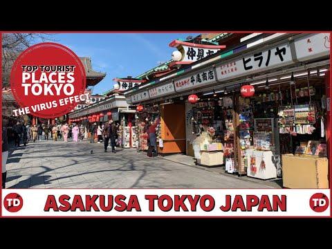 Top Tourist Spots Tokyo | How has the VIRUS Effected ASAKUSA?