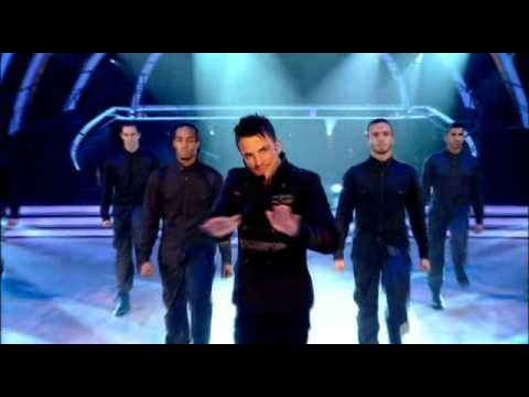 Peter Andre - Defender - Strictly BBC One LIVE 2010