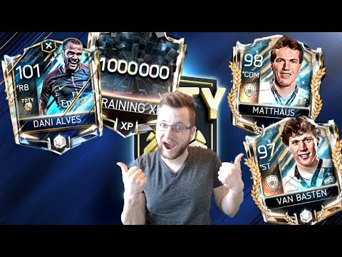 The First Prime Icons in FIFA Mobile 18! Van Basten and Matthaus, Gameplay Review Of Dani Alves