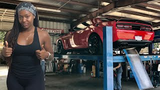 MID MUFFLER DELETE ON OUR HER NEW DODGE CHALLENGER WIDEBODY HELLCAT REDEYE RIGHT OFF THE LOT