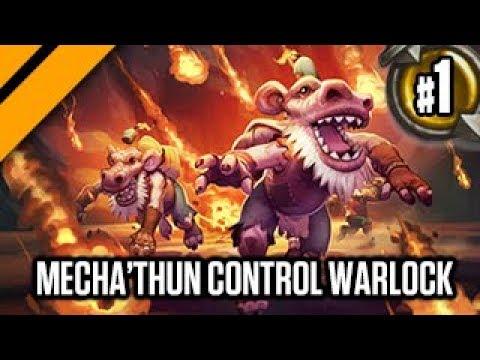 Hearthstone: Boomsday - Mecha'Thun Control Warlock P1
