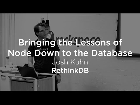 Bringing the Lessons of Node Down to the Database