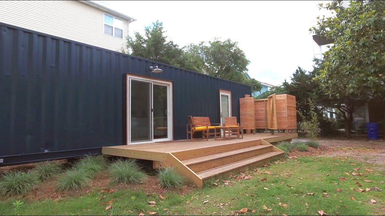 Two container homes on an island youtube - Container homes youtube ...