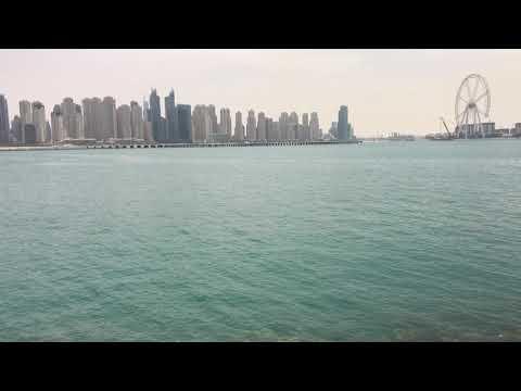 Dubai Marina sightseeing from Palm Jumeirah