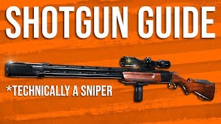 Modern Warfare In Depth: Shotgun Guide (& 725 Sniper)