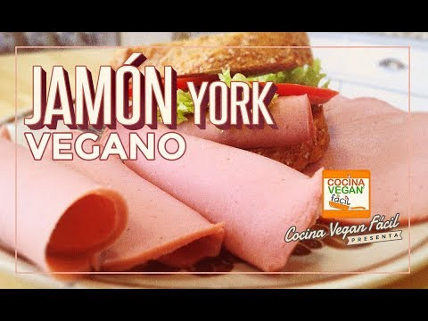 Jamón york vegano  - Cocina Vegan Fácil