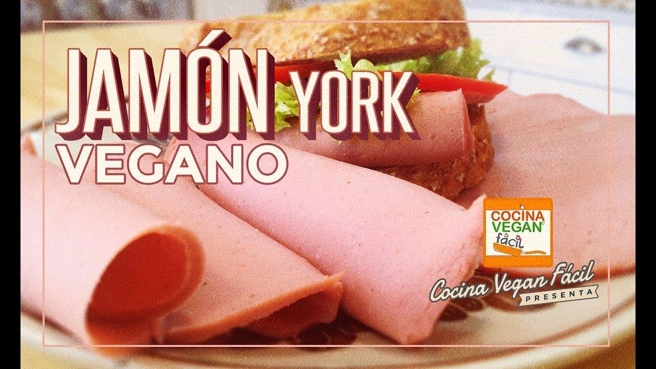 Jamn york vegano  Cocina Vegan Fcil  YouTube