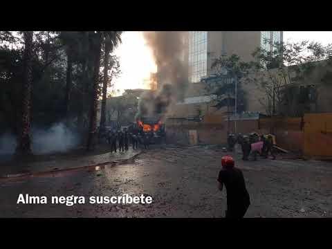 Chile 06/03/2020 se incendió un guanaco
