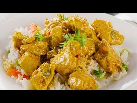 Creamy Chicken Curry Without Onions And Tomatoes   No Onions And Tomatoes Chicken Curry Recipe