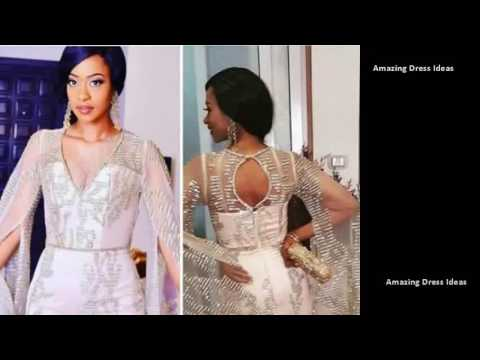 Unique Dress Styles for African trendy hot ladies - ASO EBI ANKARA New Fashions