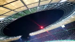 Eintracht Frankfurt besiegt Bayern München - Siegtor FCB - SGE 1-3 - DFB Pokal 2018