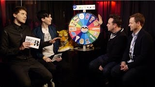 Dan and Phil's Wheel of Wonder with Ant and Dec | The BRIT Awards 2016
