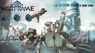 Warframe - Credit Farm Best Method (up to 270k every 5-8 minutes)