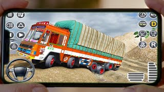 Indian Truck Spooky Stunt : Cargo Truck Driver 2  Android new game screenshot 2