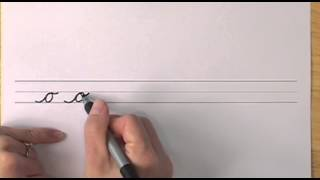 How To Write In Cursive // Lesson 6 // A Complete Course // Free Worksheets