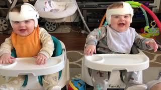 التوأم الأطفال يضحكون ويلعبون معا ★ مضحك وفشل الفيديو