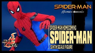 Hot Toys Spider-man Homecoming Spider-man Sixth Scale Figure Review