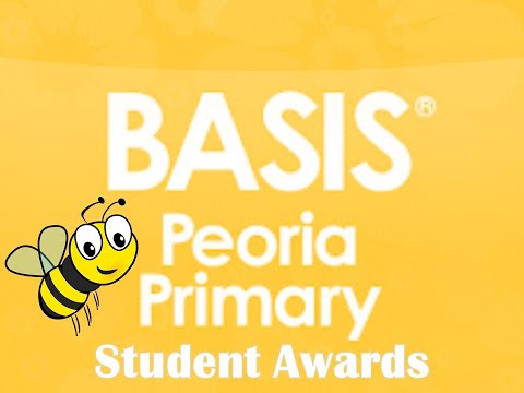 BASIS Peoria Primary 2019 2020 Student Awards