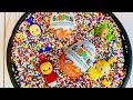 Kinder Egg Surprise and RAINBOW SPRINKLES Teletubbies Toys Opening Video!