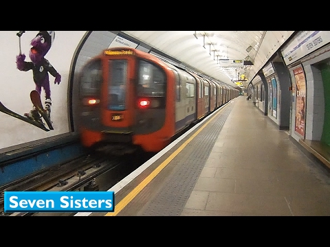 London Underground : Seven Sisters | Victoria line ( 2009 Tube Stock )