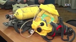 """Правила безопасности на """"отлично"""". В школе №4 пожарные провели тематические занятия"""