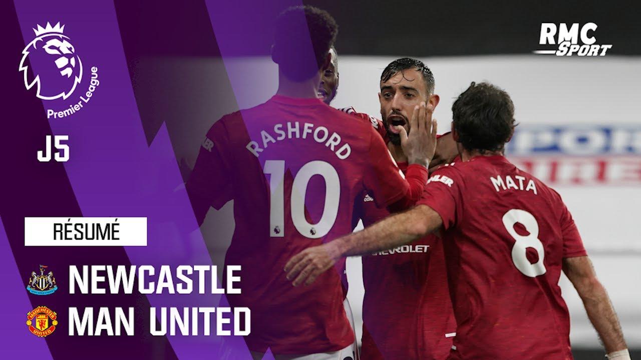 Download Résumé : Newcastle 1-4 Manchester United - Premier League (J5)