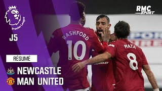 Résumé : Newcastle 1-4 Manchester United - Premier League (J5)