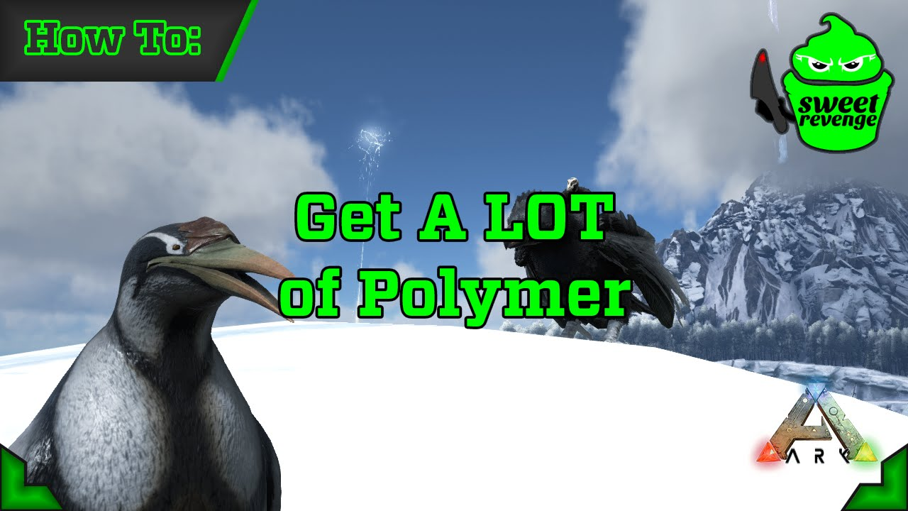Ark survival evolved how to get a lot of polymer youtube malvernweather Image collections