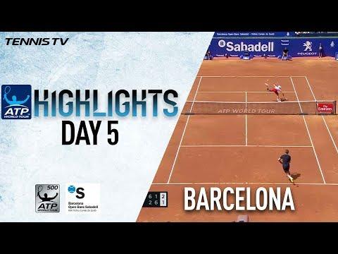 Watch Highlights: Nadal Rolls, Djokovic Falls On Wednesday In Barcelona