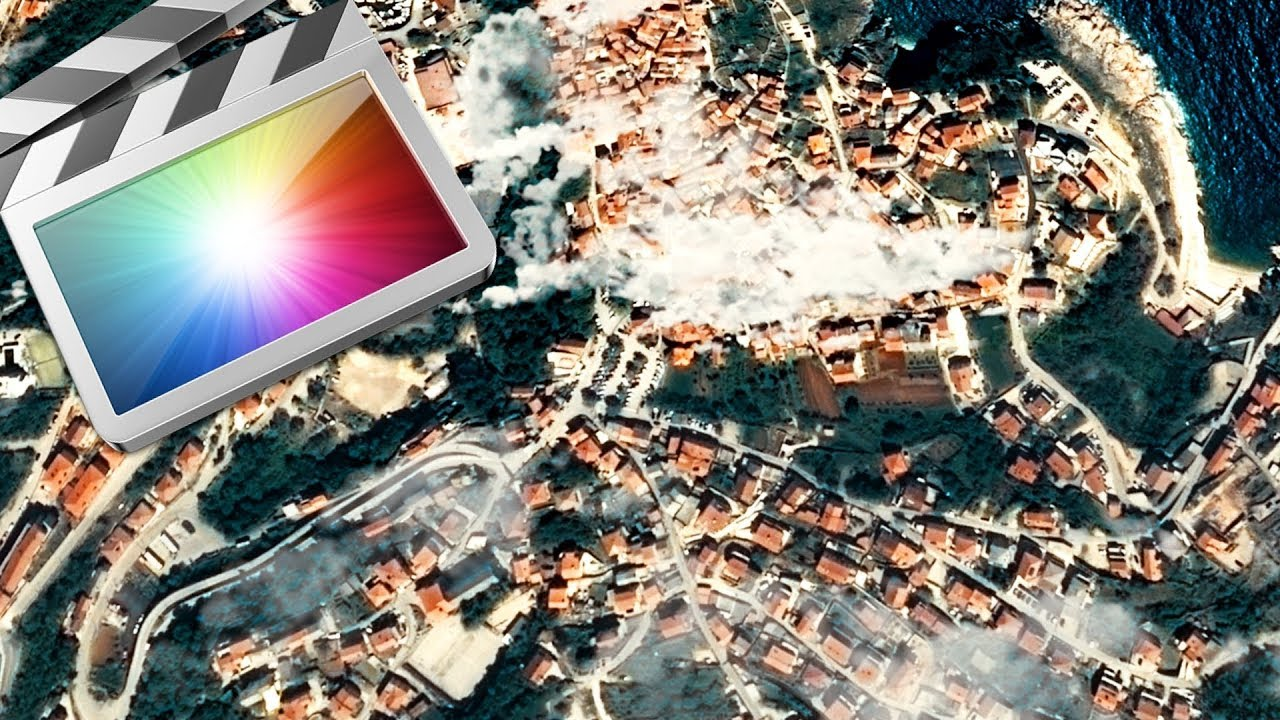 Map Zoom In/Out Effect Final Cut Pro