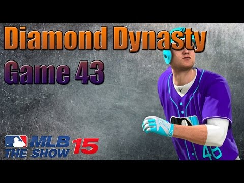 MLB 15 The Show Diamond Dynasty - CURSED NEW UNIFORMS!!