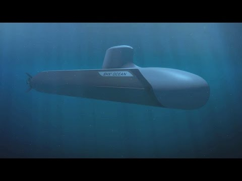 DCNS - SMX® Ocean Multi-Role Attack Submarine Combat Simulation [1080p]