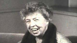 Eleanor Roosevelt Speech Human Rights