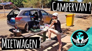Roadtrip Australien Westküste • Mietwagen besser als Campervan ? • Weltteise VLog #1