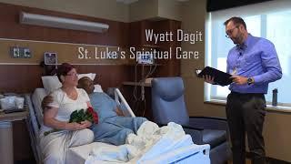 Hospital Wedding at St. Luke's