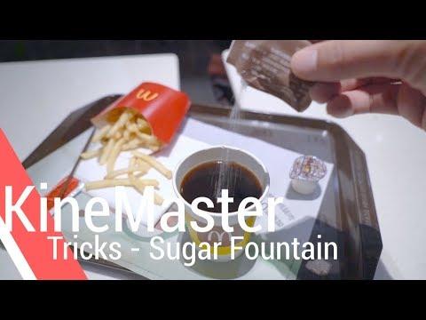 Sugar Fountain - KineMaster Tricks