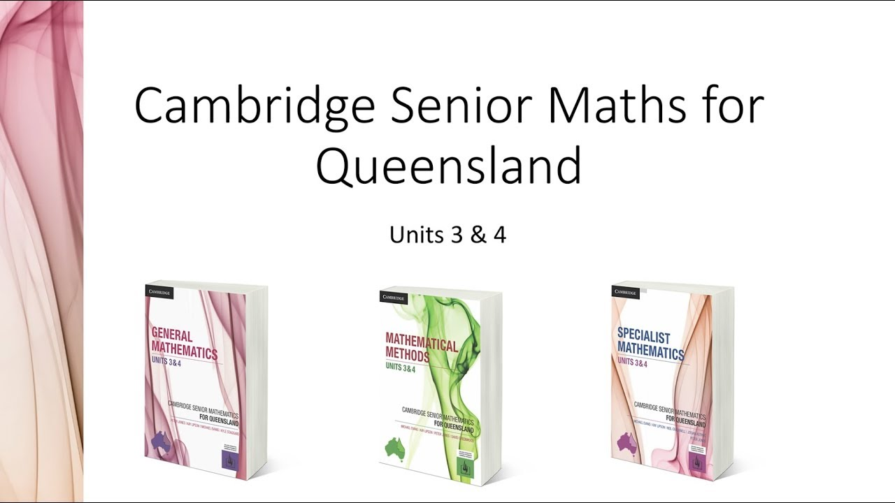 General Mathematics Units 3&4 for Queensland (print and